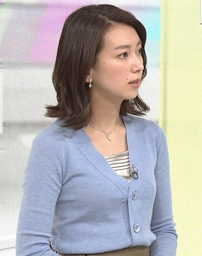 和久田麻由子アナがかわいすぎる!夜になってから黒が多くなった!