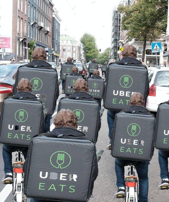 uber eats 給料はどれくらい貰える?時給はいくらで日給どれくらい?