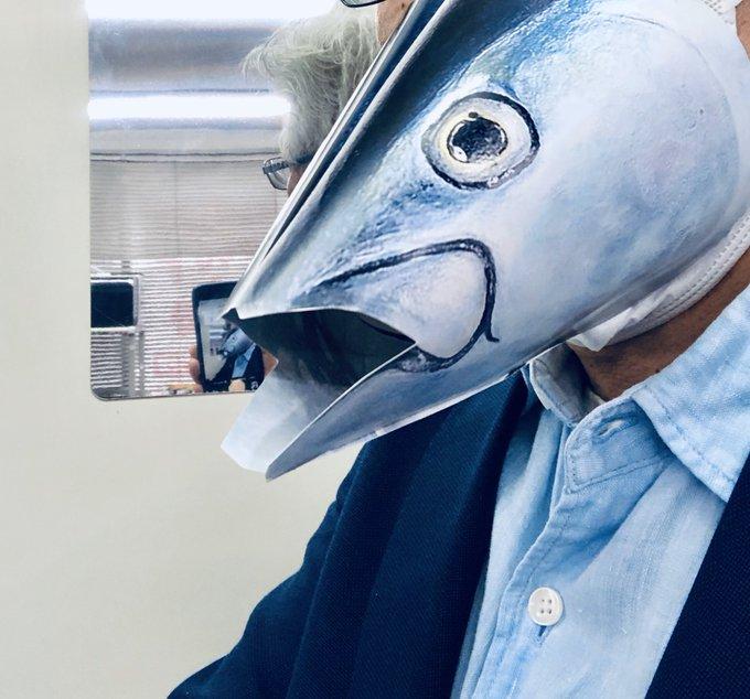マグロマスクの作り方は?ネットで買わなくてもお家で簡単につくれる
